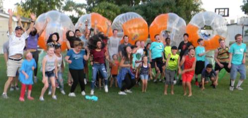 Bubble Soccer from Thrivent